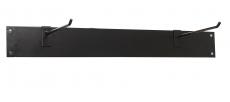 Gymnastikmatten-Wandaufhängung Individuell, schwarzes Metall