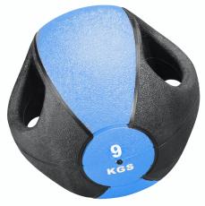 Medizinball mit Griff