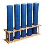 Pilates-Rollen-Halter aus Holz